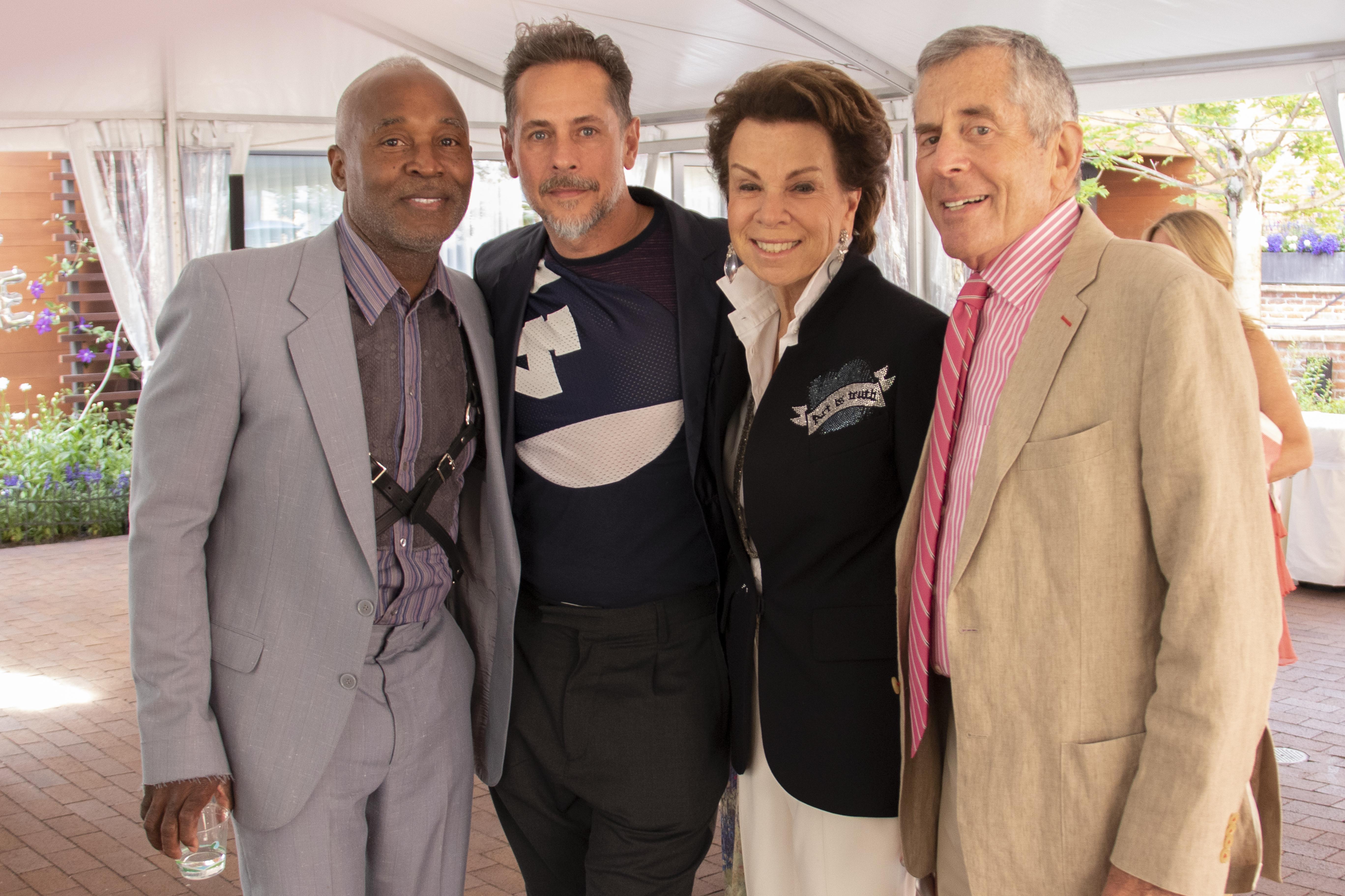 Nick Cave, Bob Faust and Sharon and John Hoffman.
