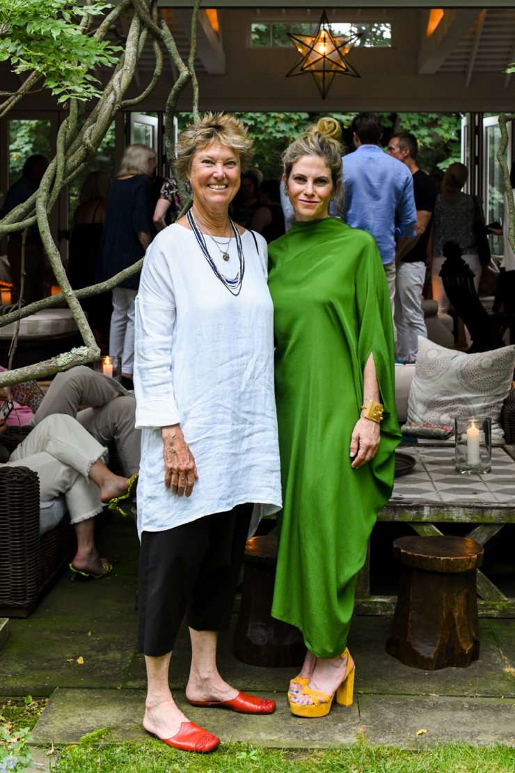 Edwina von Gal and Allison Berg