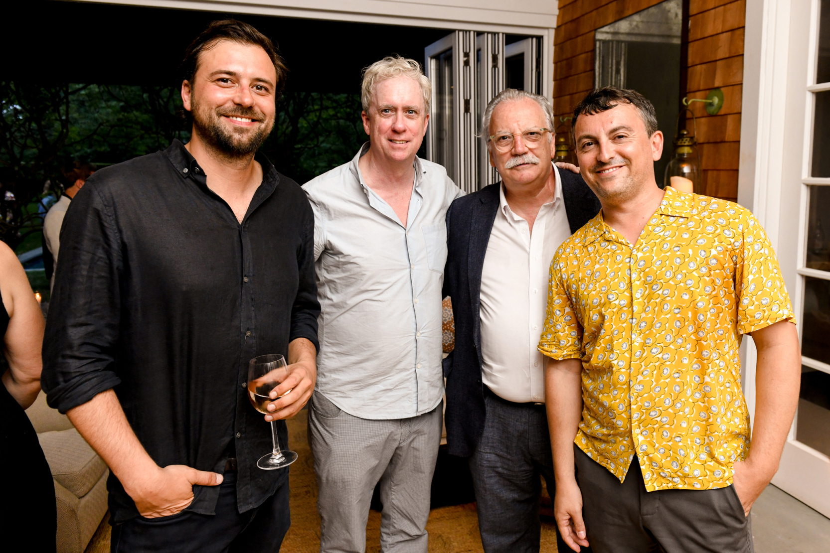 Tony Oursler, Moses Perez and Santiago Giralda