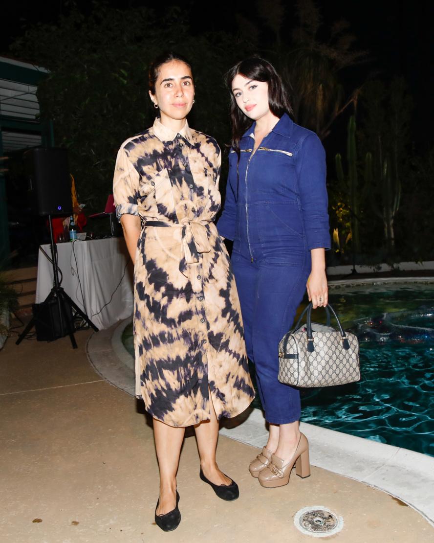 Myriam Ben Salah and Ariana Papademetropoulos