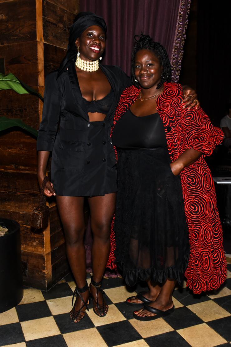 Oluwabukola Becky Akinyode and Shaniqwa Jarvis