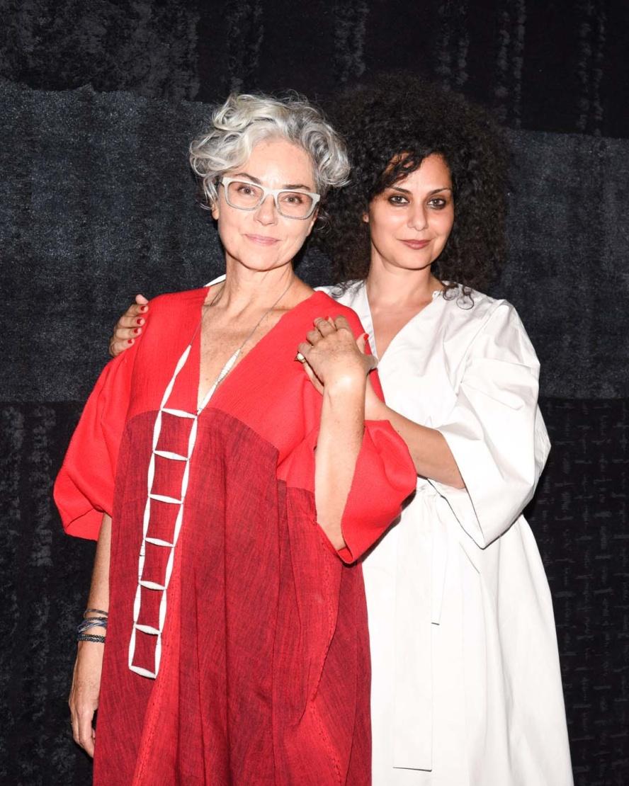 Xarene Eskandar and Rebeca Mendez