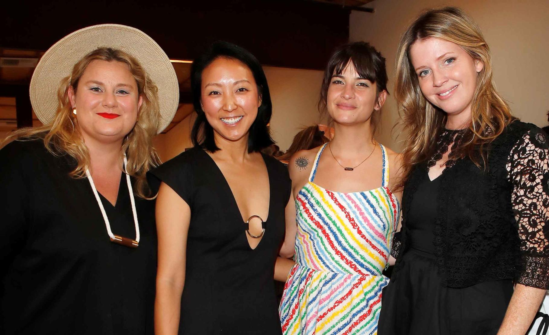 Adrienne Adar, Esther Kim Varet, Melanie Faure and Priscilla Fraser