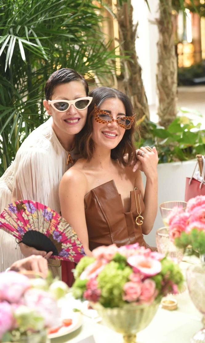 Angeles Almuna and Gabriela Medina