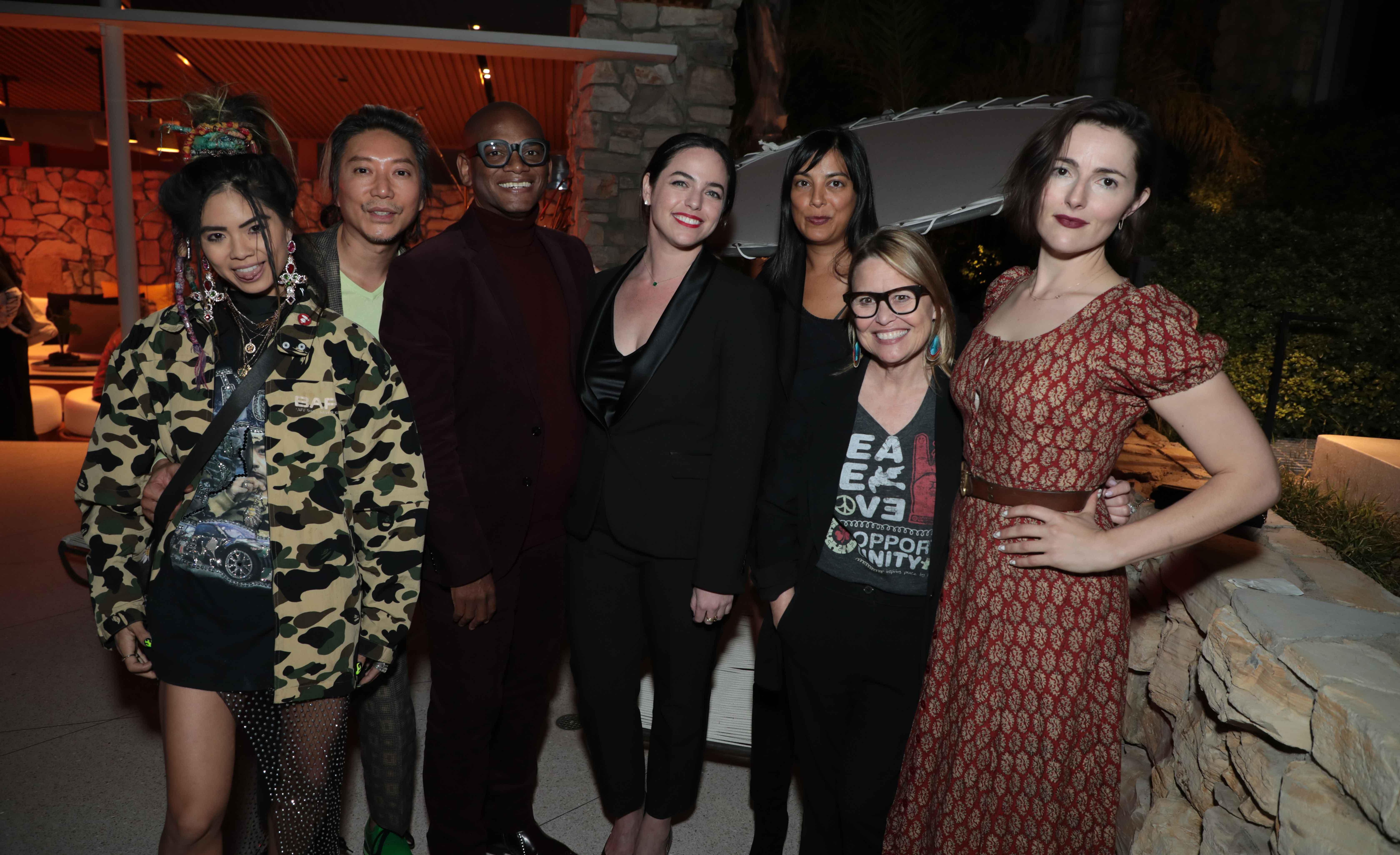 Ann Marie Hoang, Hau Nguyen, Arthur Lewis, Lesley Silverman, Niki Kanodia, Suzette Ramirez Carr and Lizzy Goodman. Photo by ABImages