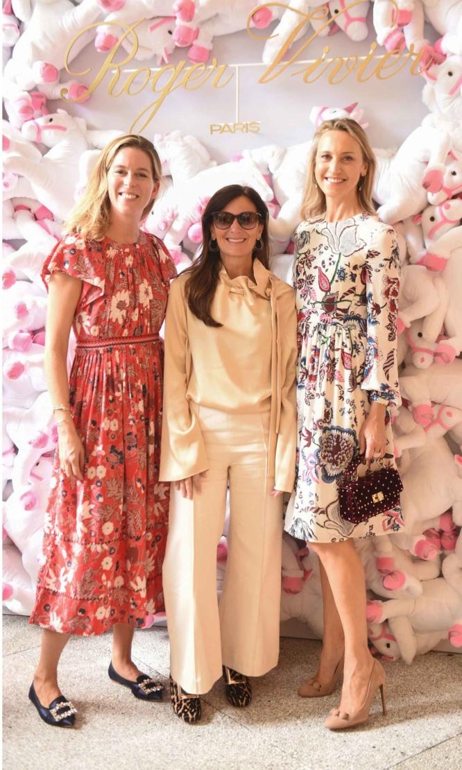 Marie Ecot, Sarah Harrelson and Kinga Lampert