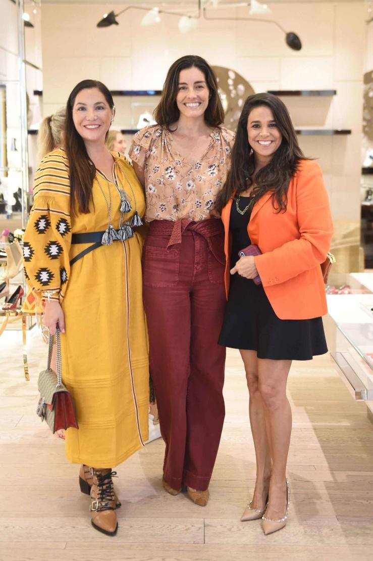 Soledad Lowe, Lisa Cortes and Stephanie Sayfie Aagaard