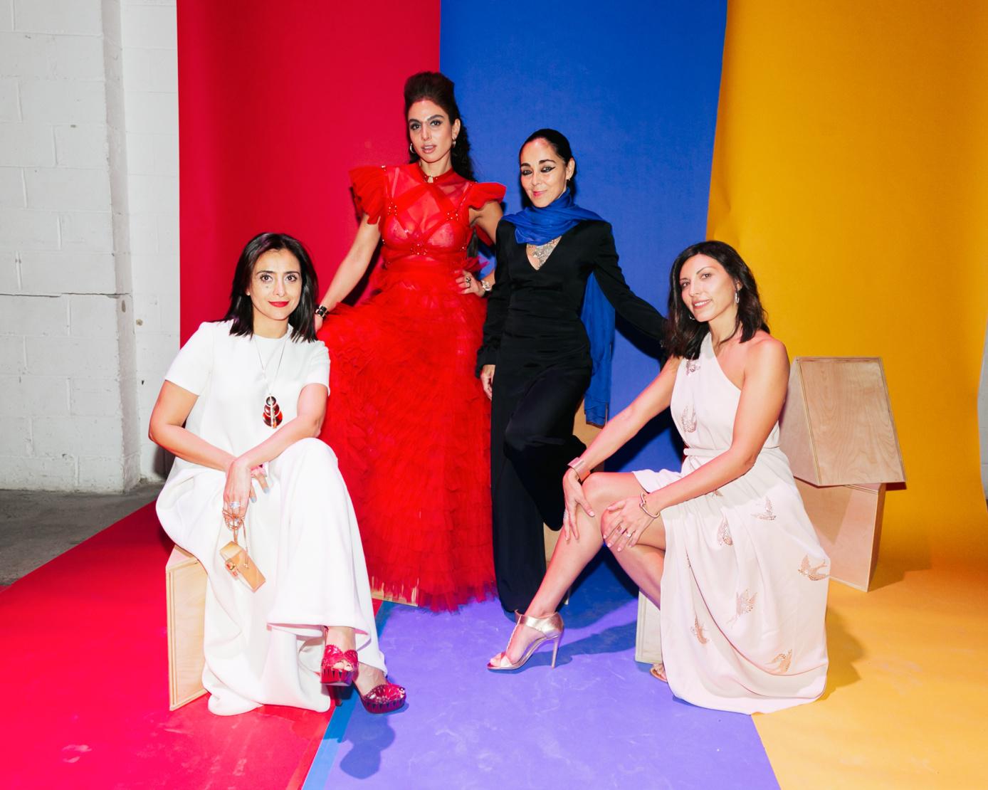 Nazy Nazhand, Shari Loeffler, Shirin Neshat and Sheree Hovsepian