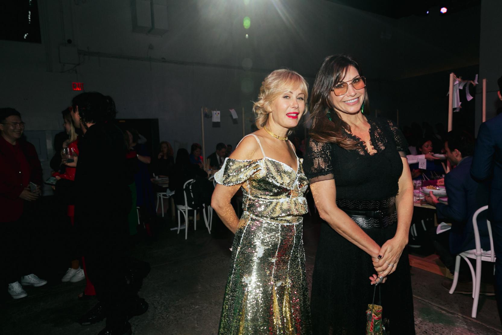 Tara Subkoff and Gina Gershon