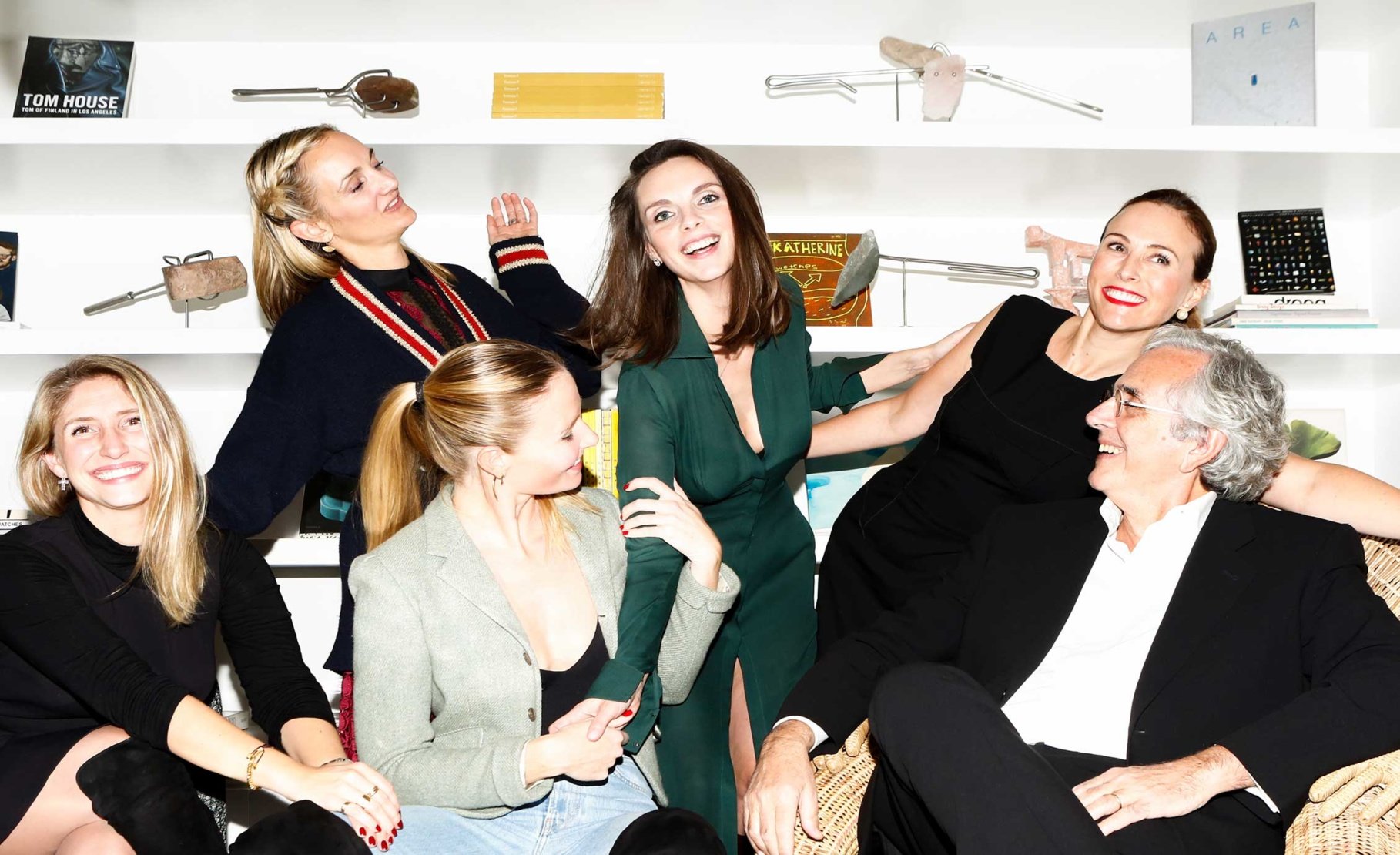 Brianna Lipovsky, Amy Rueckl, Mackenzie Reilly, Alexandra Cassar, Carlos Benaïm and Celine Barel
