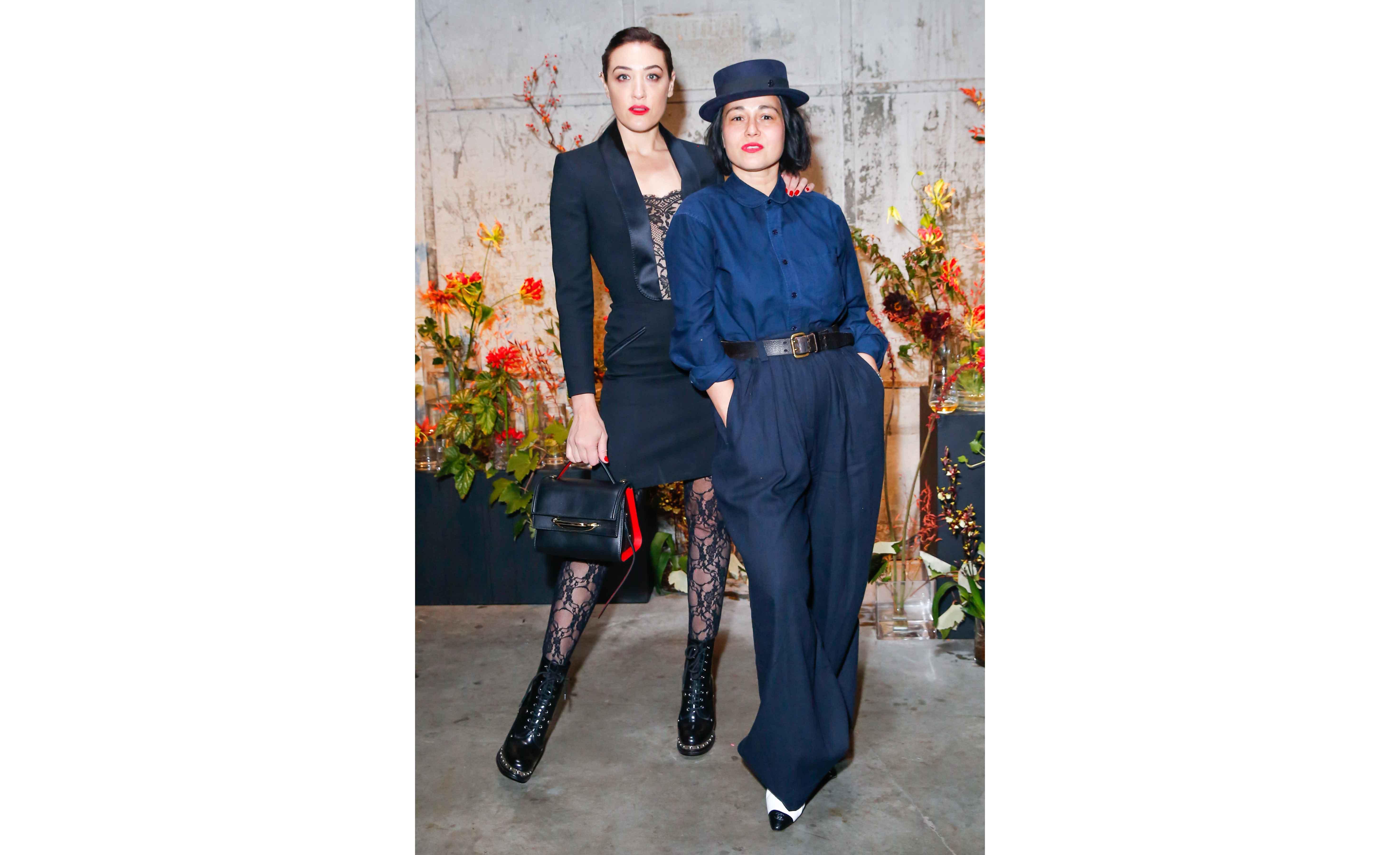 Mia Moretti and Camille Becerra