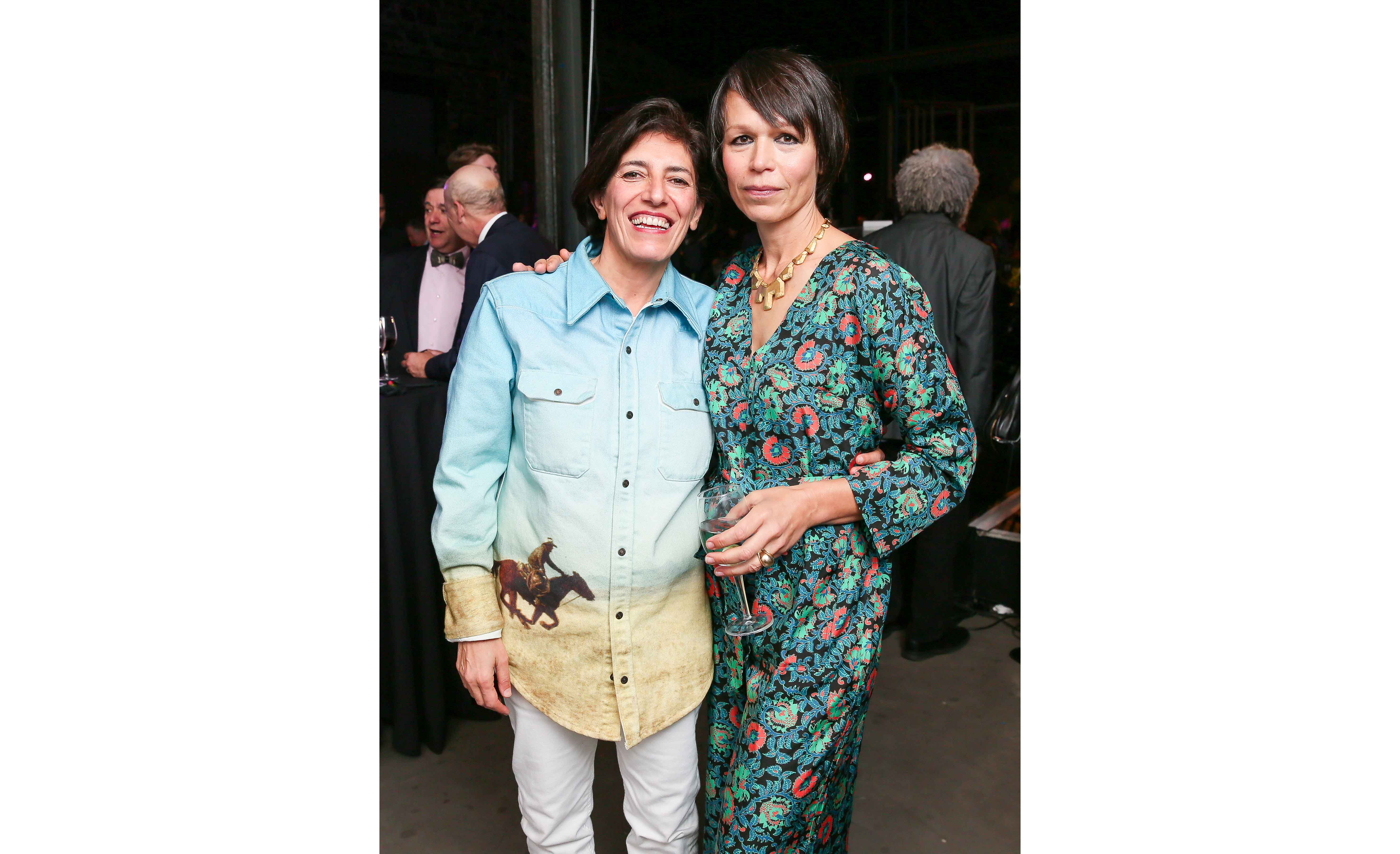 Nairy Baghramian and Carol Bove