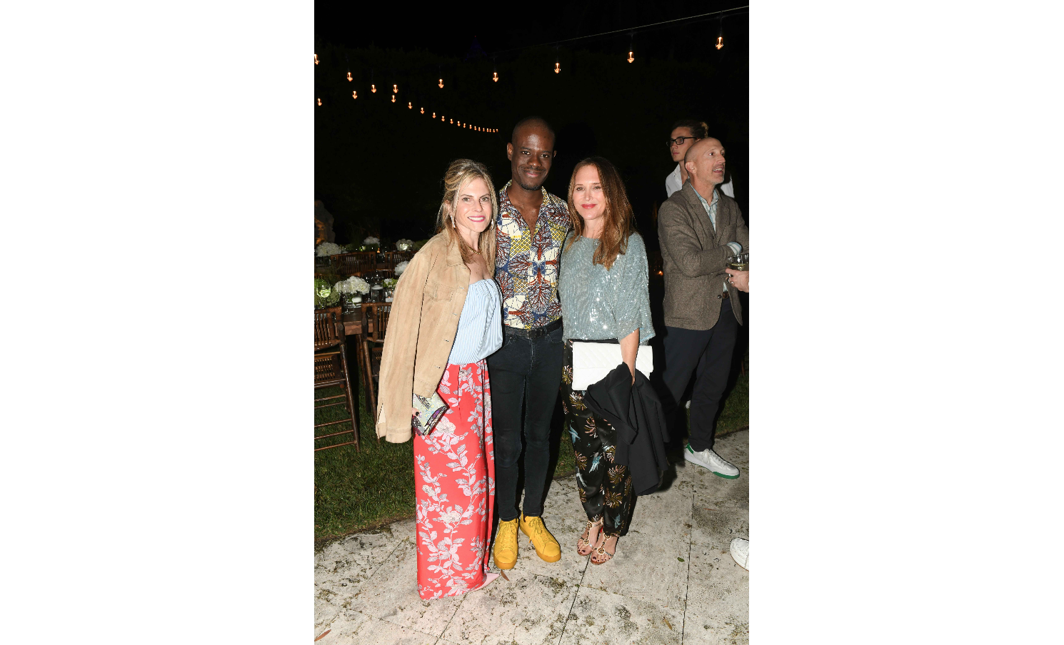 Allison Berg, Diedrick Brackens and Sheryl Amsterdam