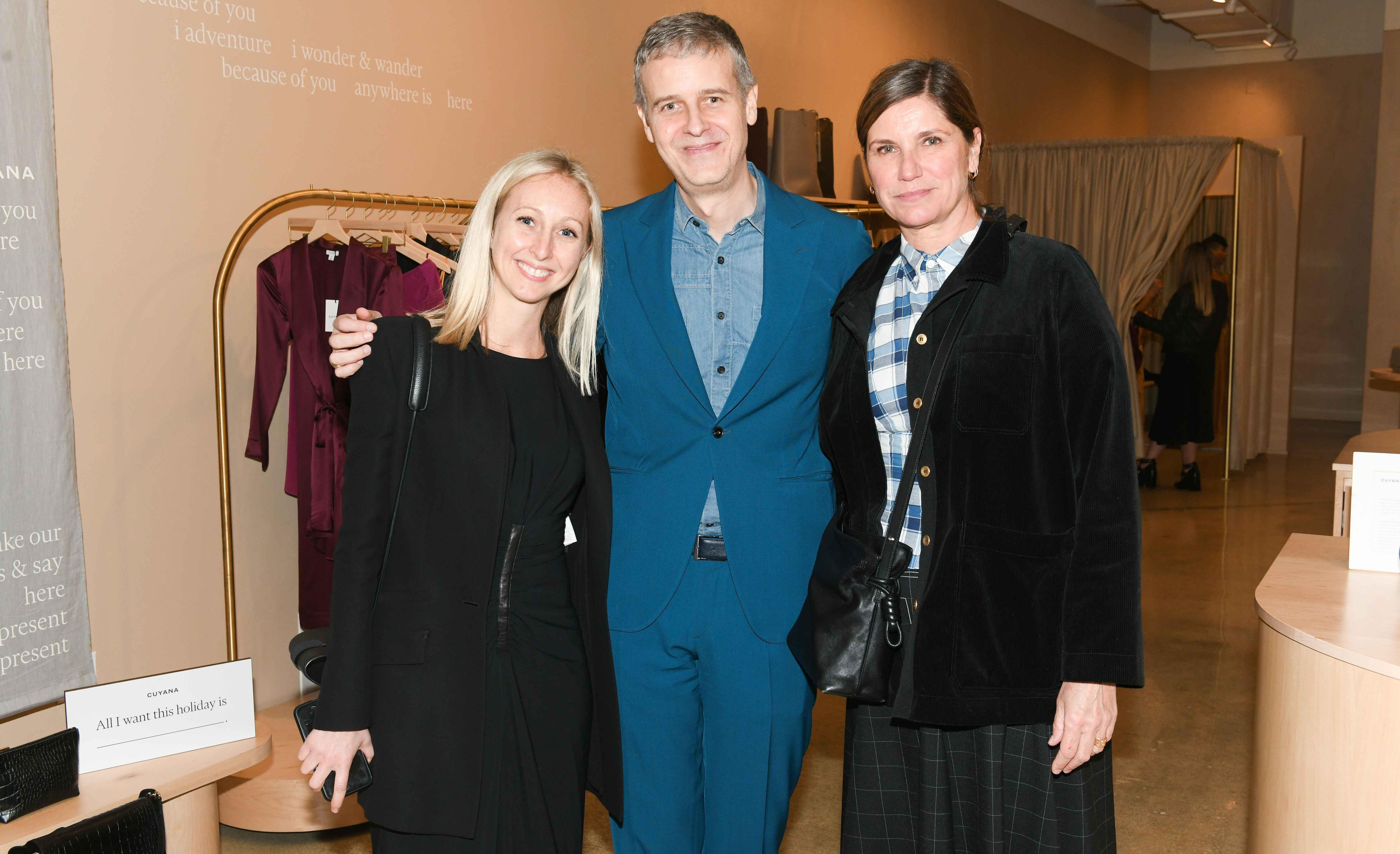 Sylvie Picquet, Armand Limnander and Sara Helmig