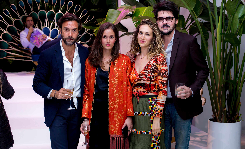 Marc Ange, Hanane El Moutii, Zoe Guttman and Sebastien Leon