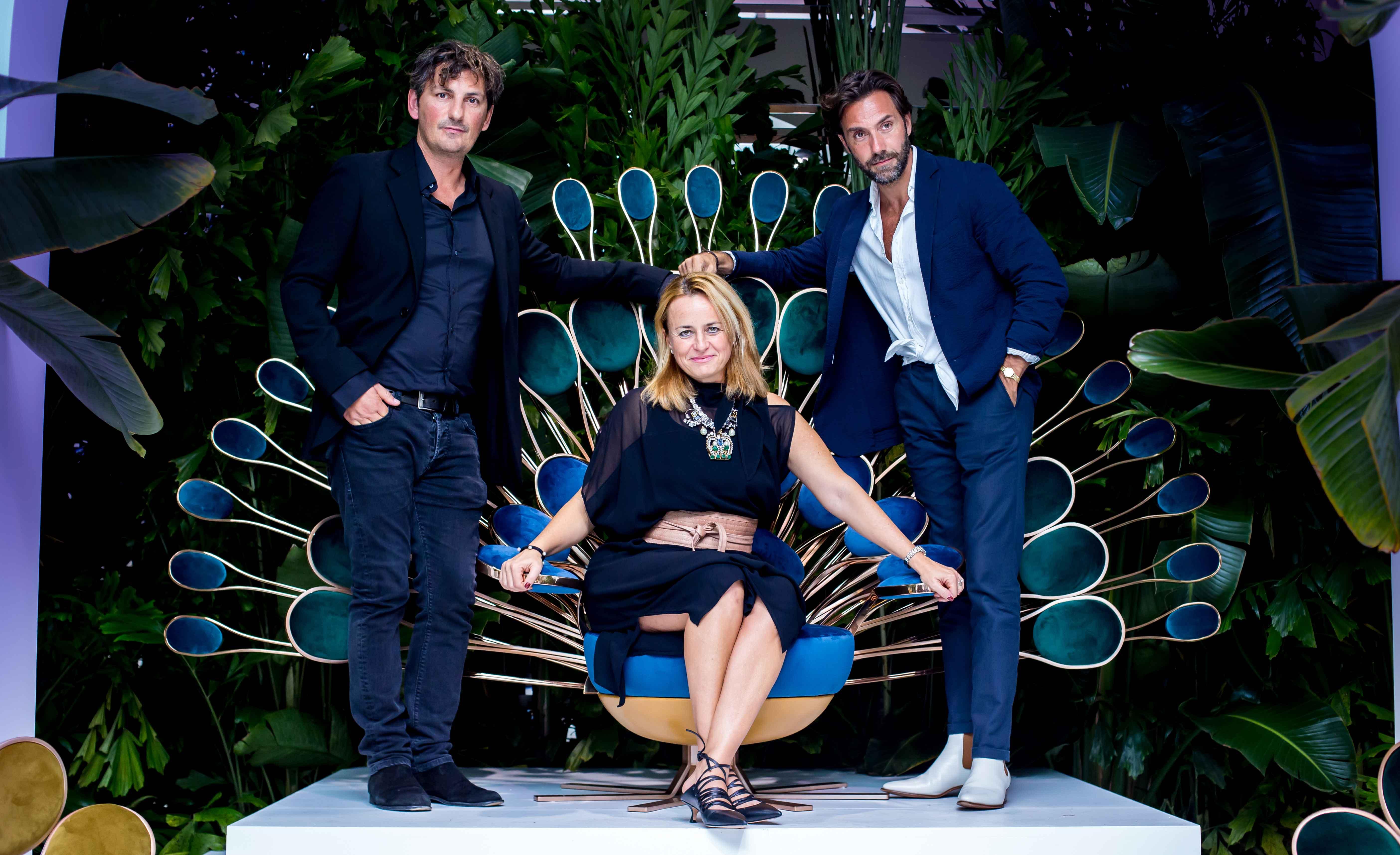 Marco Morandini, Eleonore Cavalli and Marc Ange