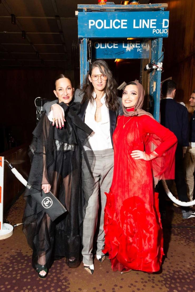 Cynthia Rowley, Jenna Lyons and Noor Tagouri