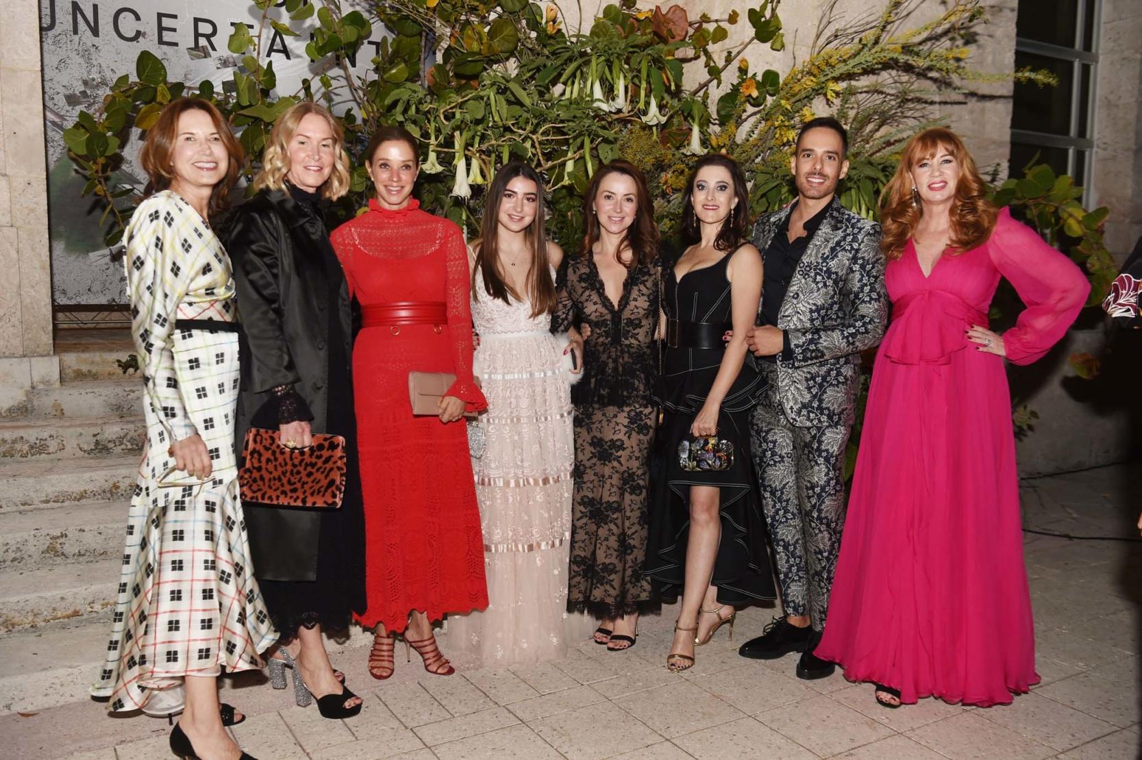 Vivian Pfeiffer, Monica Goldsmith, Alisa Romano, Mia Blavatnik, Olga Blavatnik, Susanne Birbragher, Jose Manrique, Pearl Baker-Katz