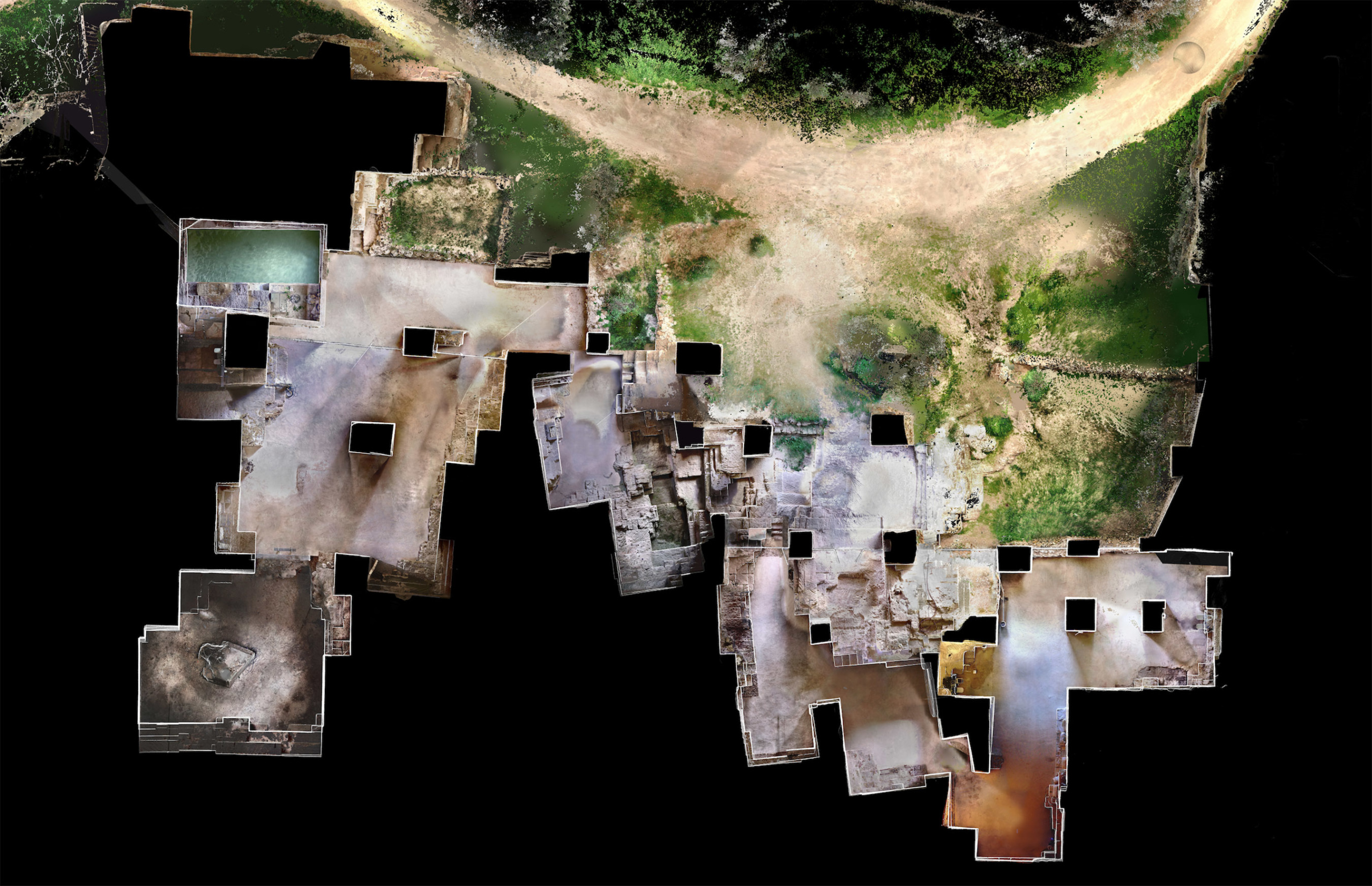 digital map of home