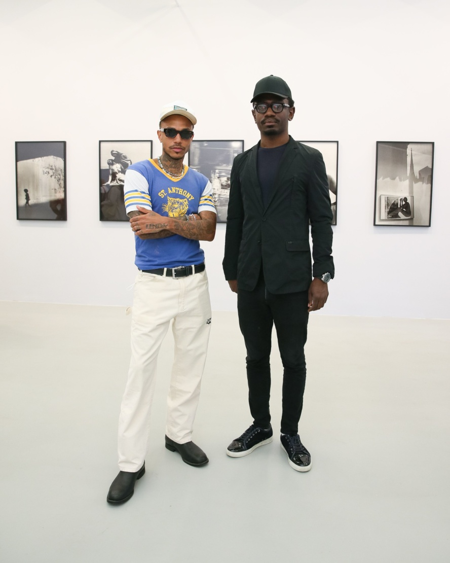 Sean Lyles and Suhayb Zarroug. Photography by Matteo Prandoni/BFA.com.