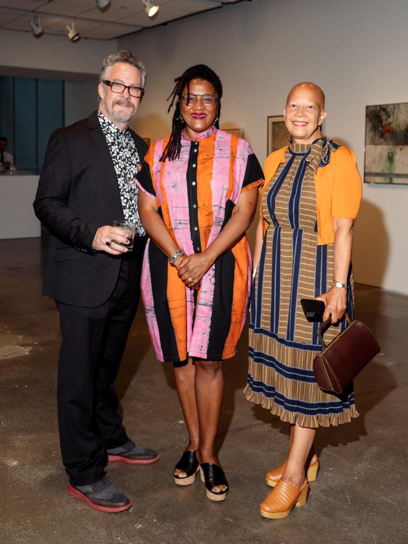 Tony Gerber, Lynn Nottage and Sheila Bridges.