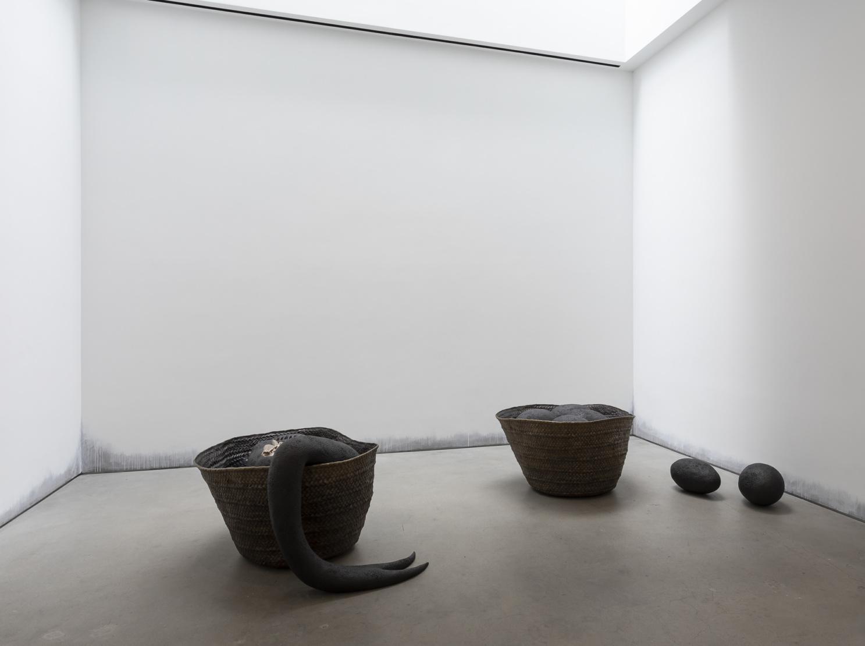 Installation view, Wangechi Mutu , at Gladstone Gallery, New York, 2021 Courtesy the artist and Gladstone Gallery, New York and Brussels.