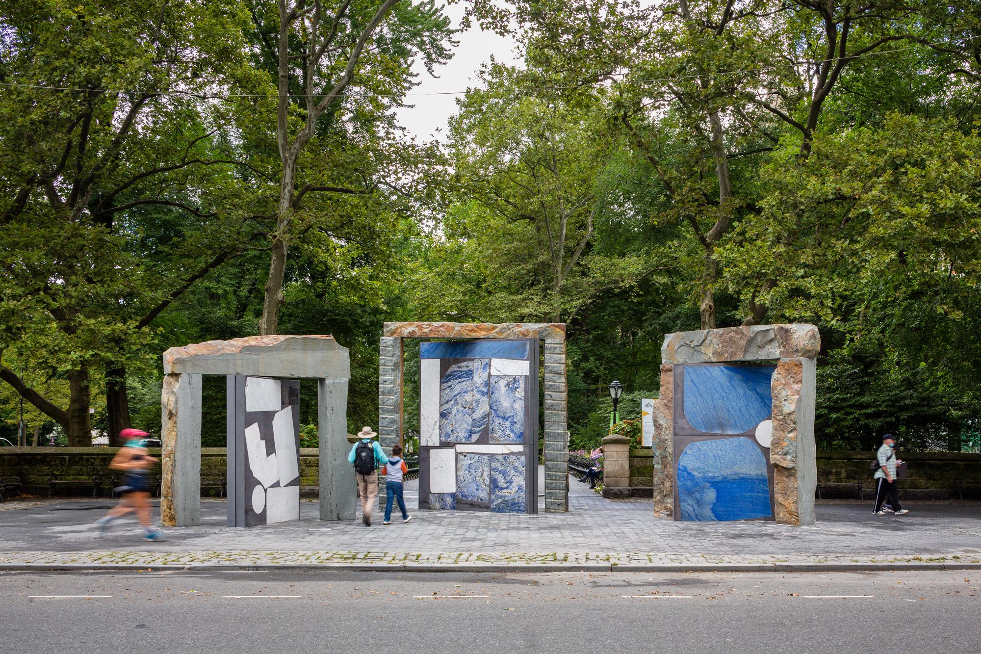 temporary art installations doors