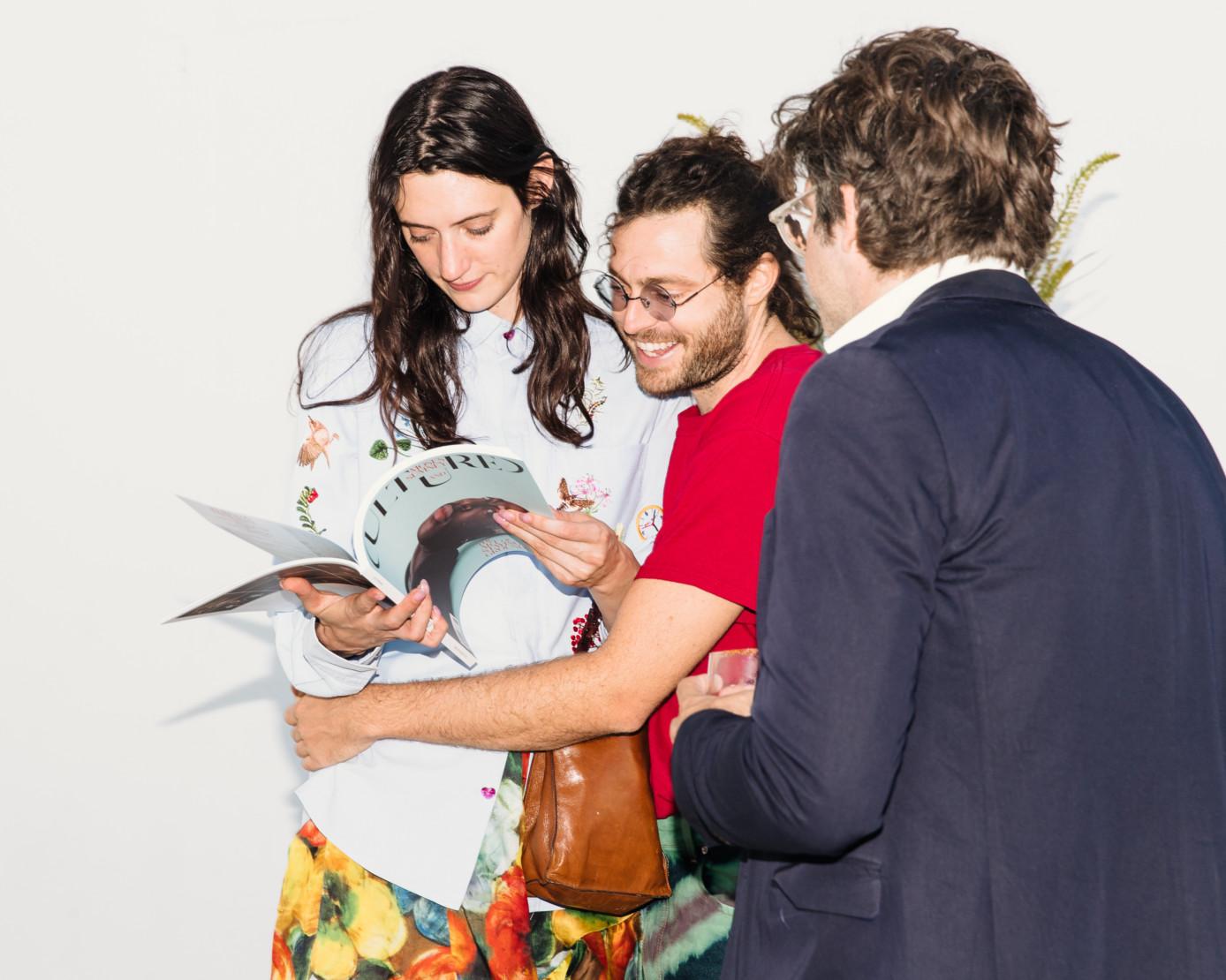Kat Herriman, Daniel Wenger and Ian Volner.