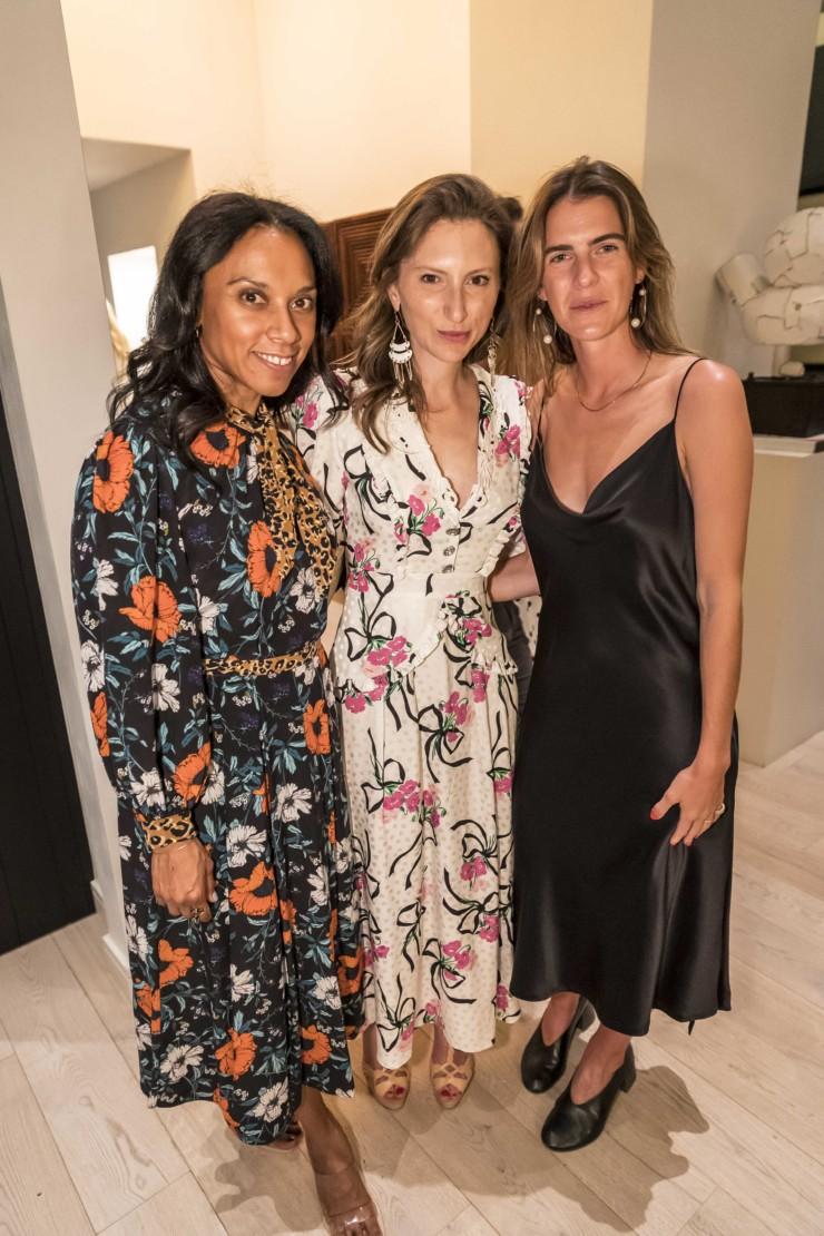 Carla Camacho, Sarah Calodney and Sarah Levine.
