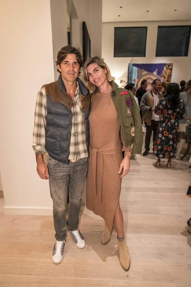 Nacho Figueras and Delfina Blaquier.
