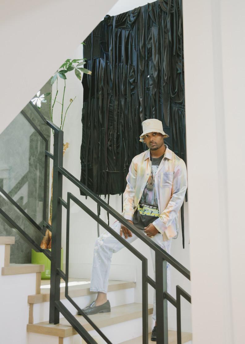 Steelo Brim with Anthony Akinbola,