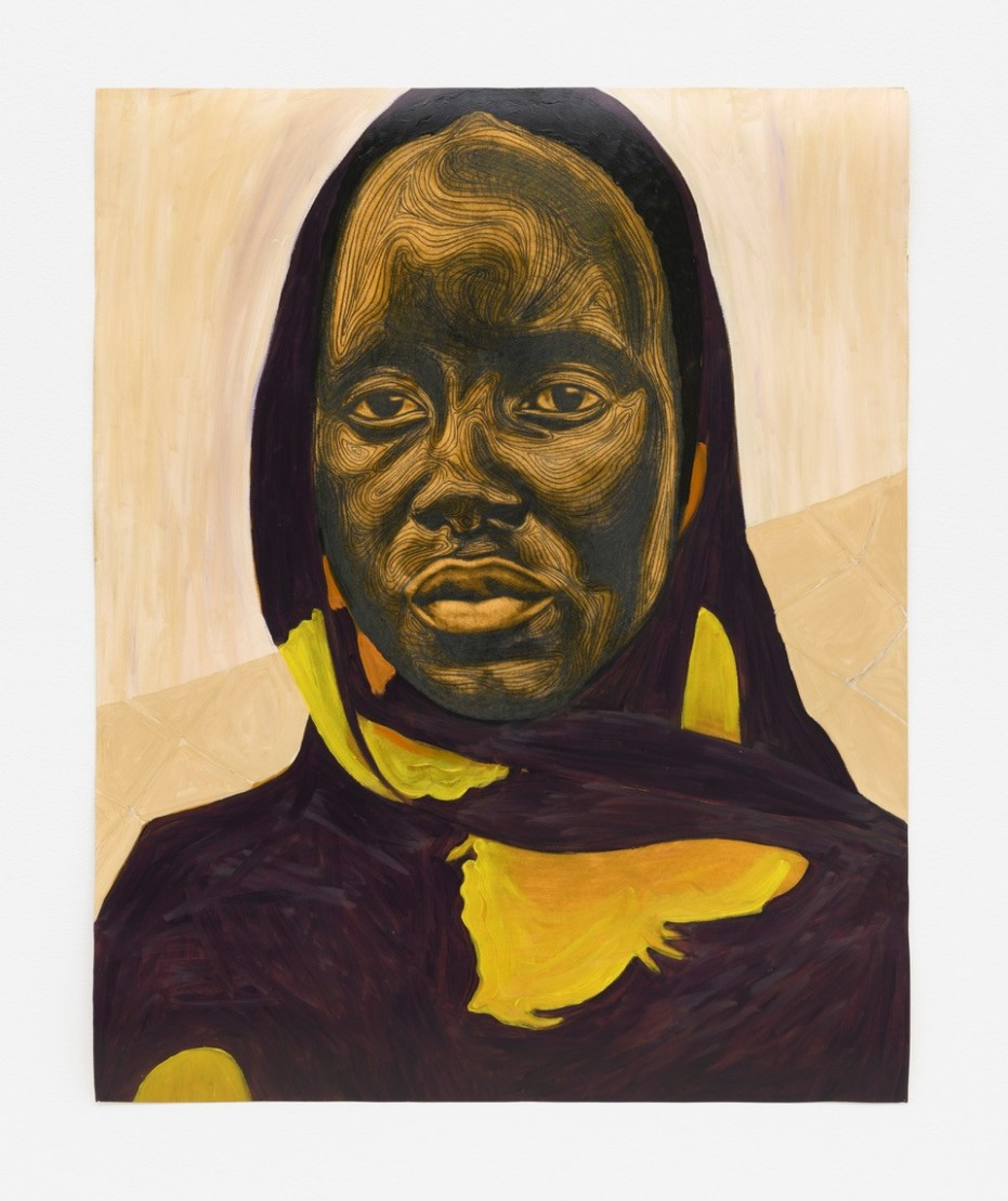 Collins Obijiaku, Untitled (Woman I), 2021. Courtesy of the artist and Roberts Projects, Los Angeles. Photo by Alan Shaffer.