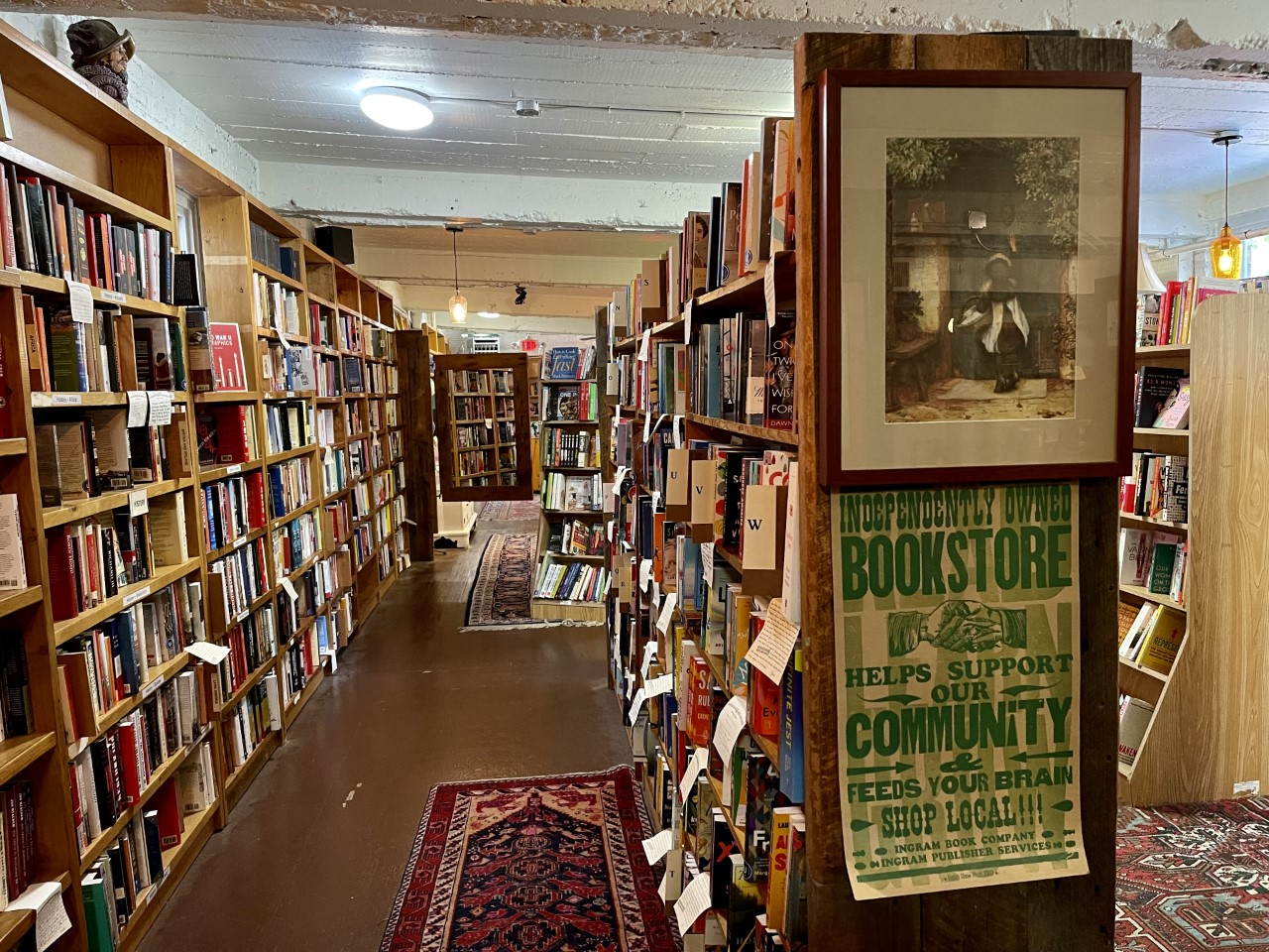 book releases photo of cozy independent bookstore bookends and beginnings