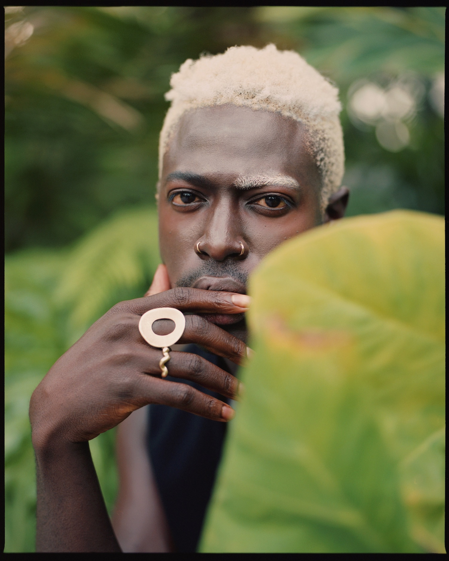 artists on tour moses sumney behind large leaves