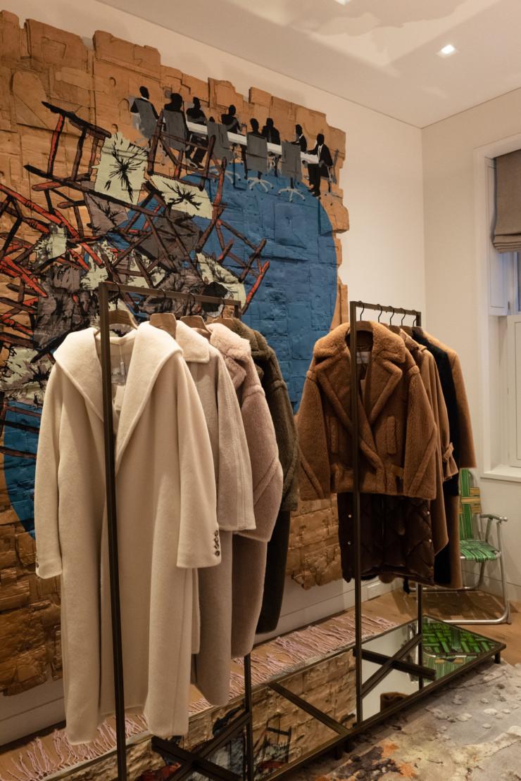 Max Mara coats.