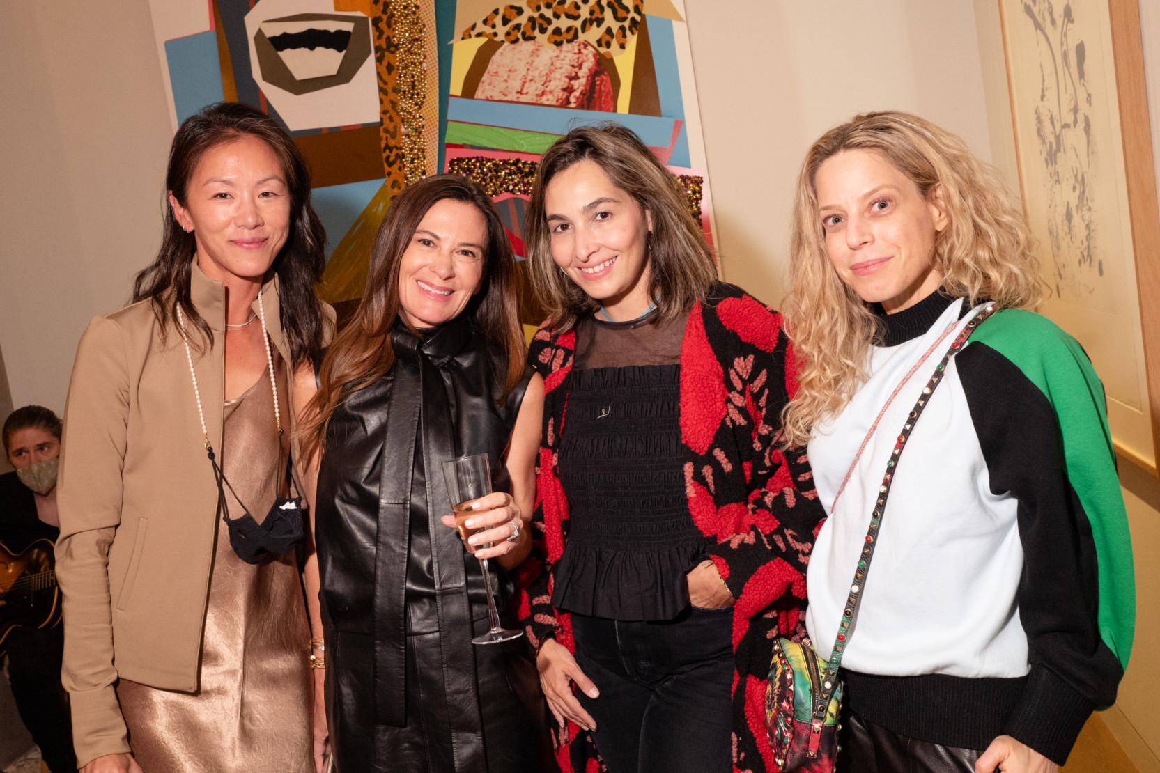 Olivia Song, Sarah Harrelson, Dana Farouki, Karen Robinovitz.