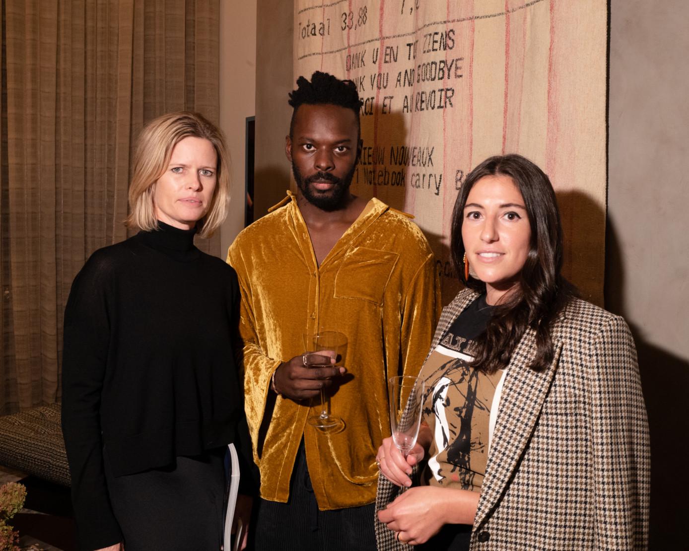 Lori Warriner, Tunji Adeniyi-Jones, Arielle Assouline-Lichten.