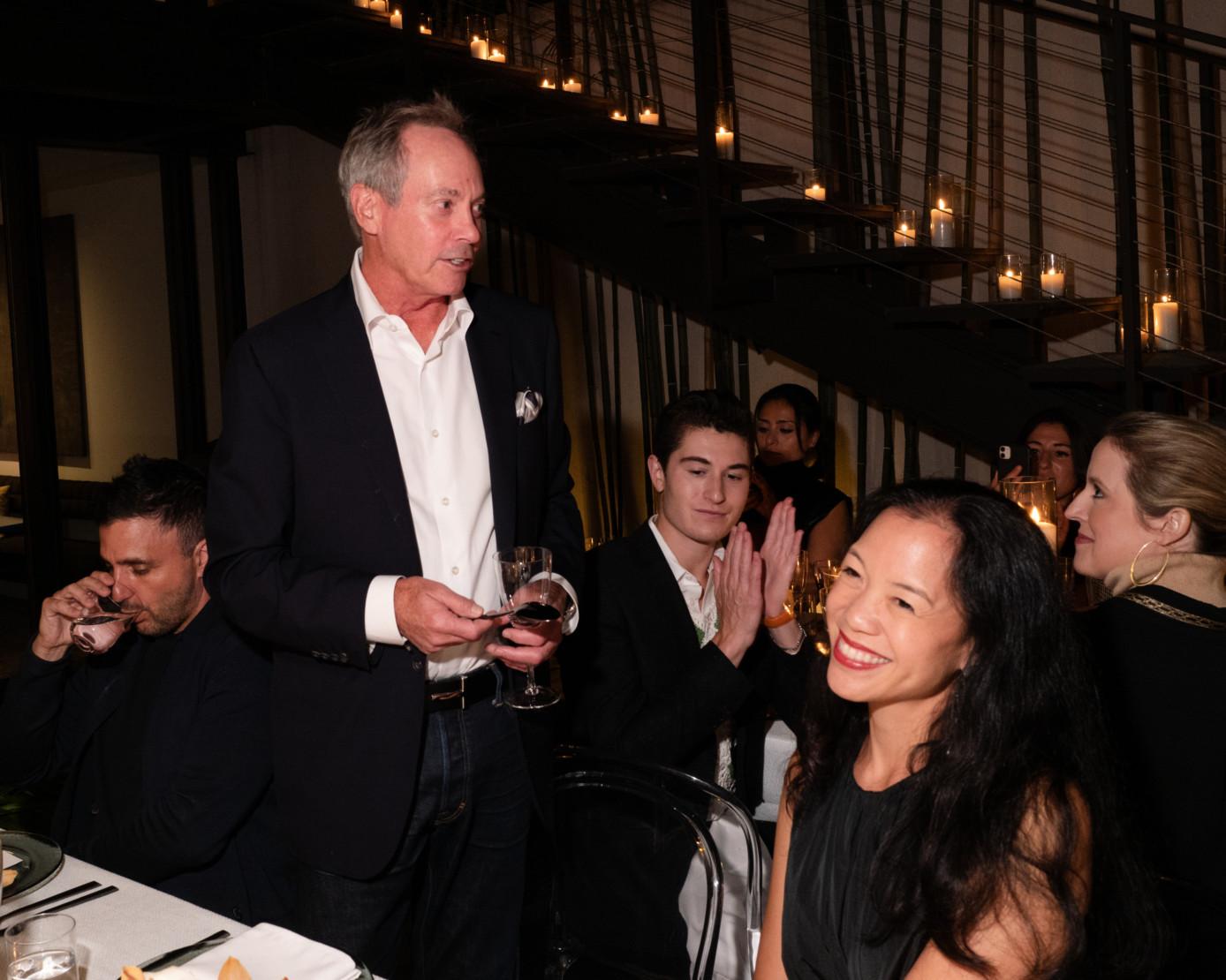 Paul Pariser and Carla Shen.