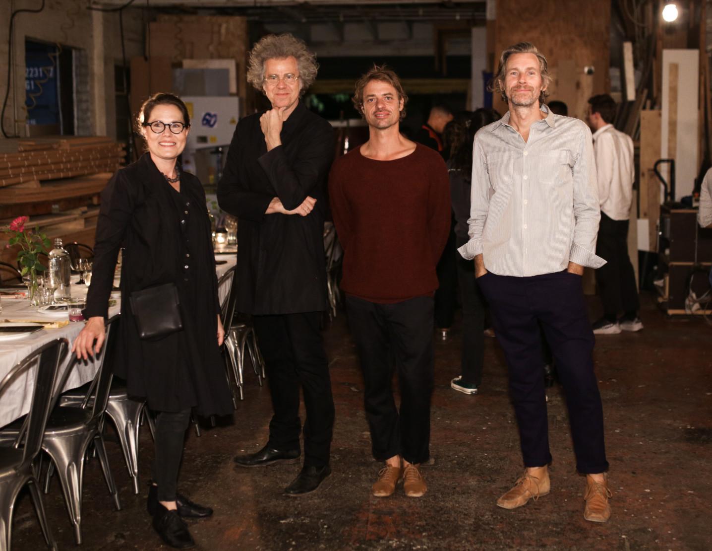 Harriet Girardoni, Johannes Girardoni, Orpheo McCord and Joel Shearer.