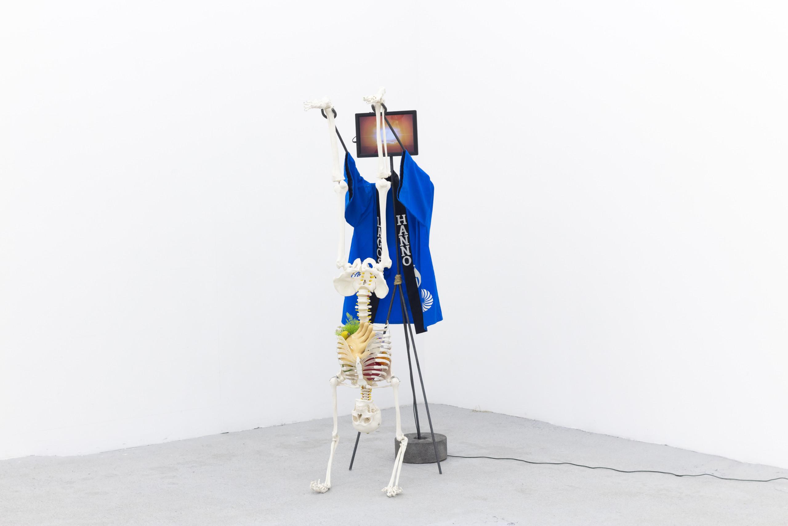 "Gabriel Rico's sculpture ""Tsar Bomb"""