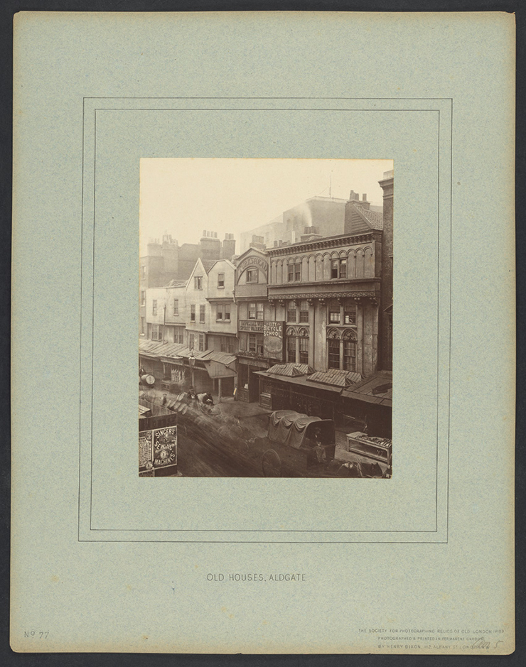 Henry Dixon (1820-1892), 61 through 120 from vol. 2 of Relics of Old London,  [London, Society for Photographing Relics of Old London, 1875-1886], carbon print, Yale Center for British Art, Paul Mellon Collection