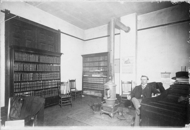 "Hatton Sumners never went to law school but instead ""read"" the law as he worked in this office to prepare for the state bar exam."