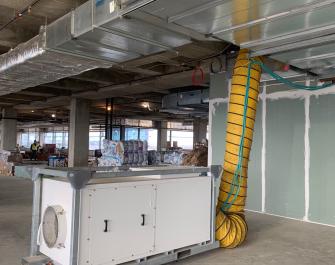 Construction Heating