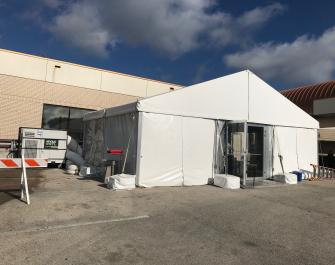 COVID Test Tent 2