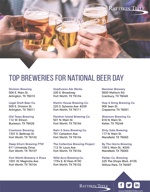 Top Breweries For National Beer Day
