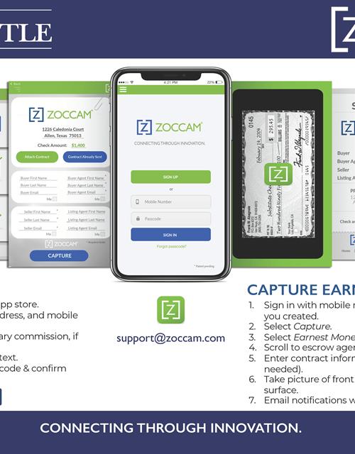 ZOCCAM Registration